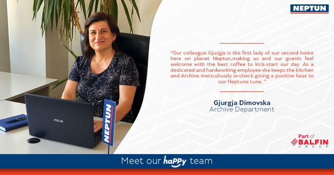 Meet our haPPy team - Gjurgja Dimovska