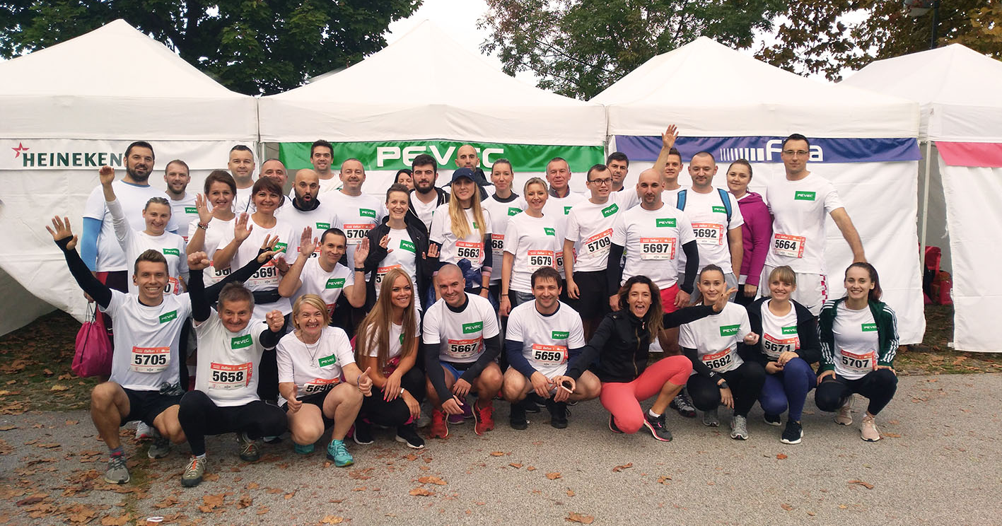 Pevec running team
