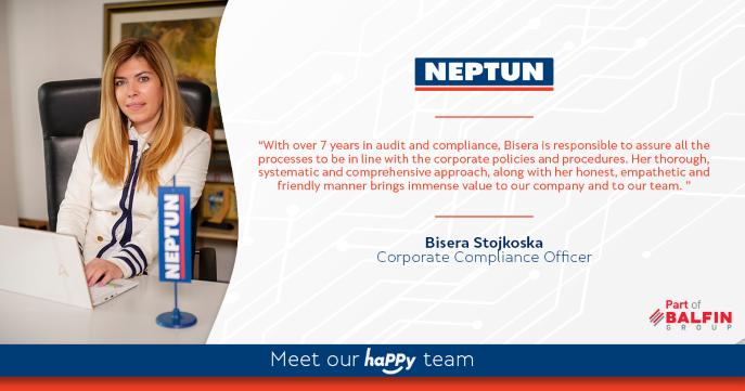 Meet our haPPy team  Bisera Stojkoska